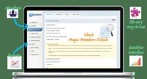 Magic Members membership plugin