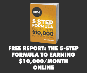 5 Step formular to Earning $10,000/month E-book