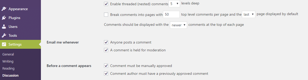 Breaking comments in WordPress to Speed up your Site