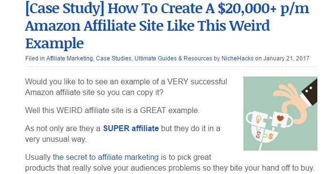 How to Affiliate Article