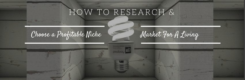 How To Research an Choose a Profitable Niche Market for a Living