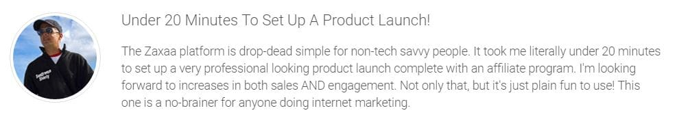 Zaxaa Saves You time to launch Your Product