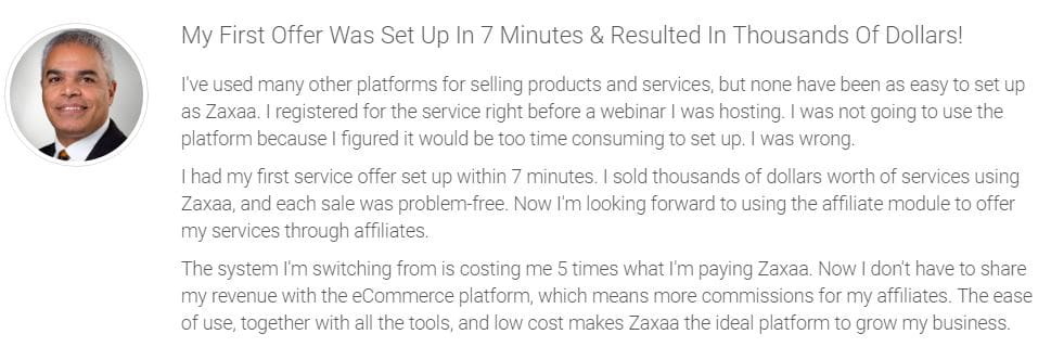 Let Zaxaa set up your product for you. Keep the profits