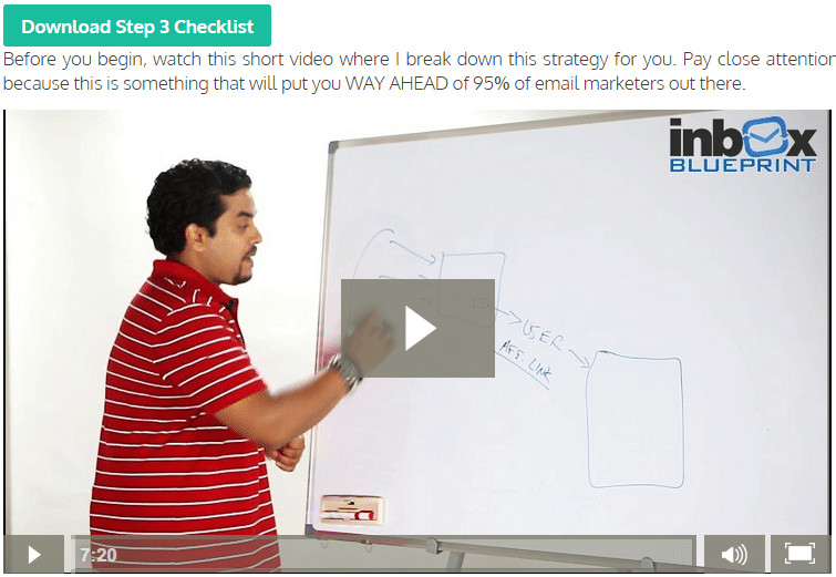 This is an Image in inbox Blueprint review showing the Greatest mistake in TYP
