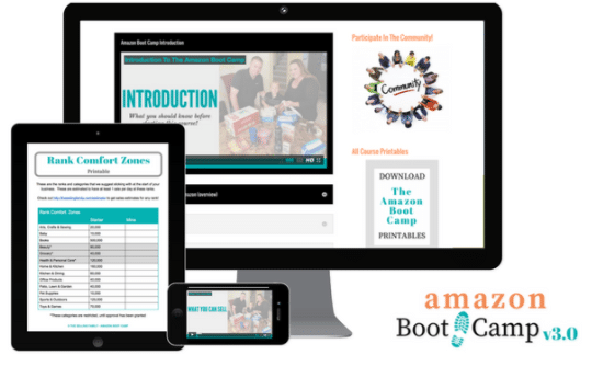This is an Image Showing a Amazon Bootcamp as an Amazing Selling Machine Cheaper Alternative