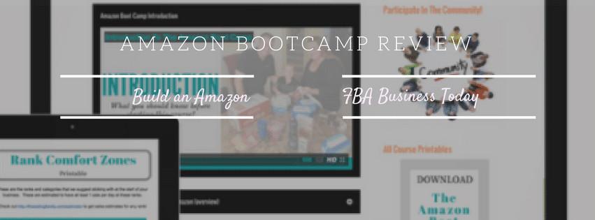 Amazon Bootcamp V3.0 Review - Jessica Larrew