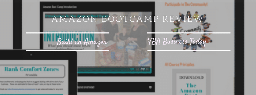 Amazon Bootcamp V3.0 Review - Jessica Larrew