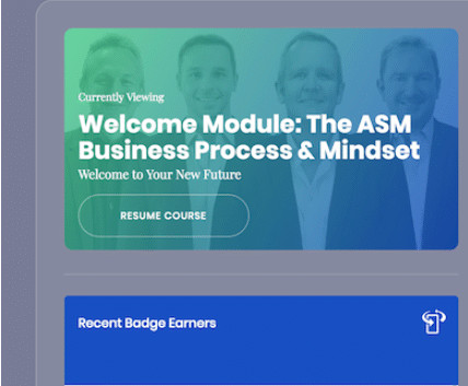 Amazing Selling Machine Review - Welcome Module
