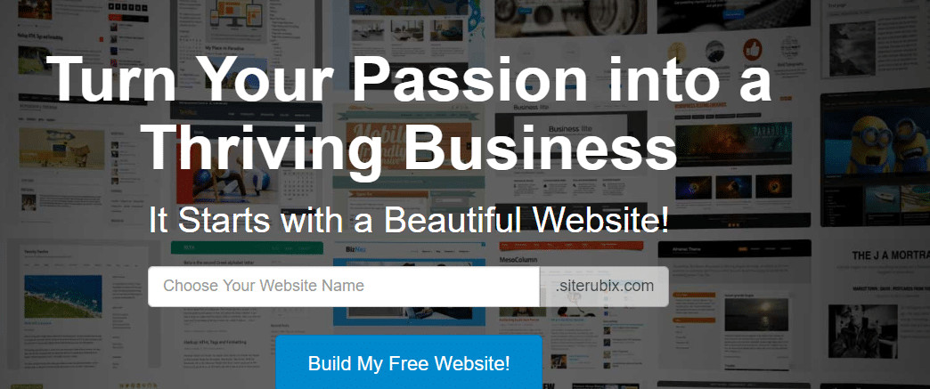 This is an Imge Showing Wealthy Affiliates SiteRubix as one of the Best Website Builders