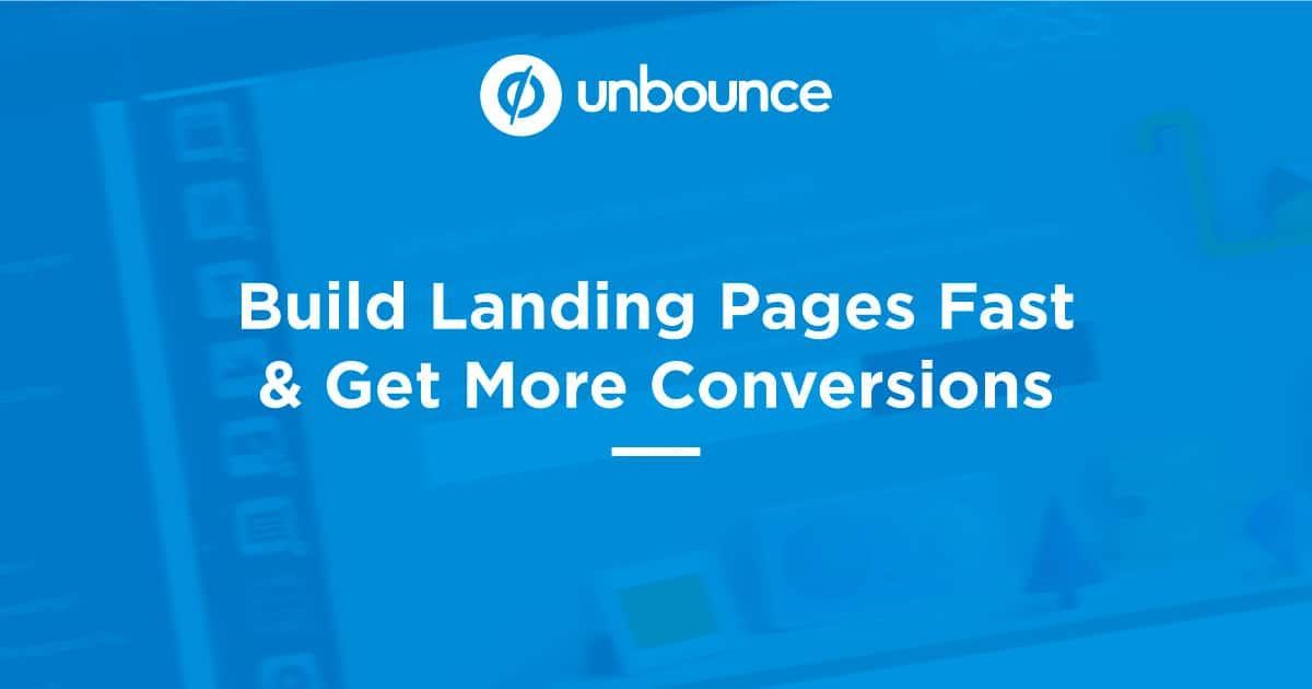 Unbounce LAnding Page Builder Software