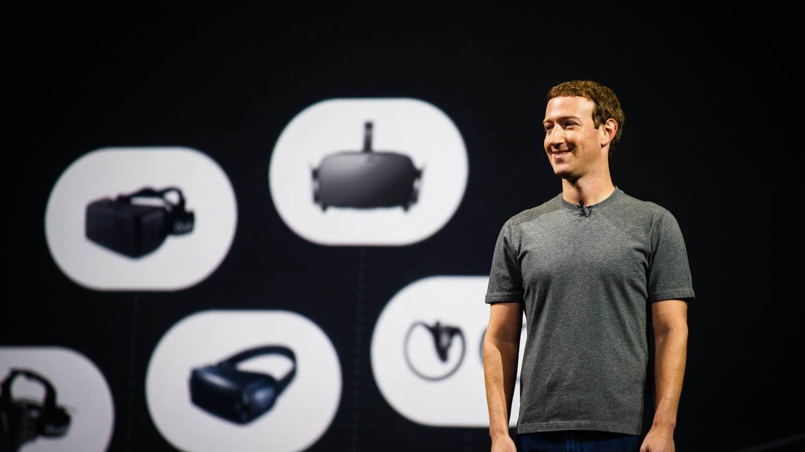 Mark Zuckrburg Oculus
