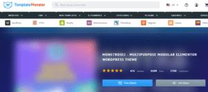 Template Monster Premium WordPress Theme
