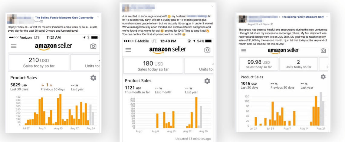 Amazon Bootcamp Review - Testimonial