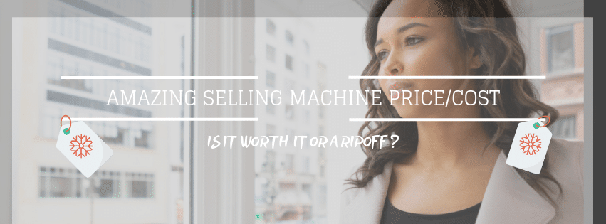Amazing Selling Machine Price