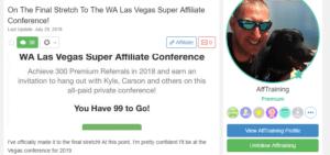 wealthy Affiliate Review - AffiliatemarketerTraining.com