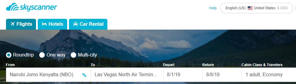 SkyScanner Travel Affiliate Program