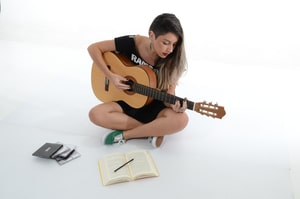 The Most Profitable Niches For Affiliate Marketing - Playing a Guitar