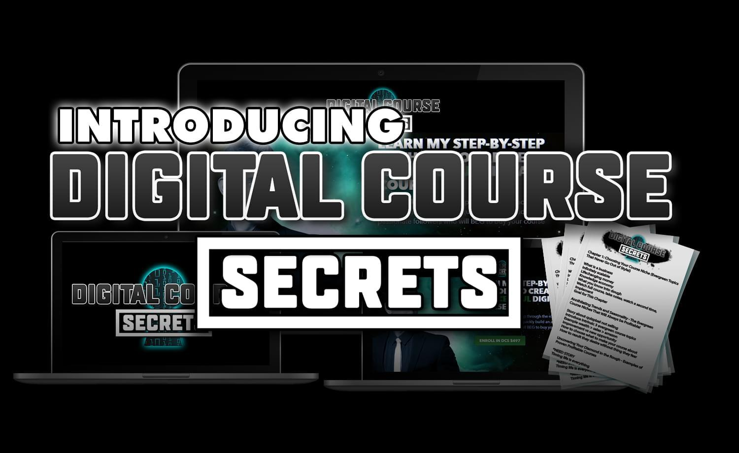 Intoduction to Digital CourseSecrets by Kevin David
