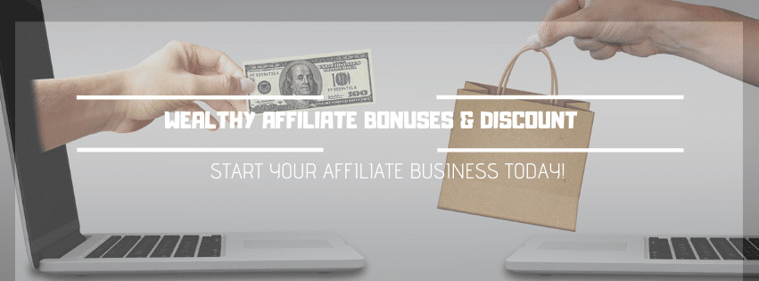 Thisnis an Image showing Featured image for Wealthy Affiliate Bonuses and Discount