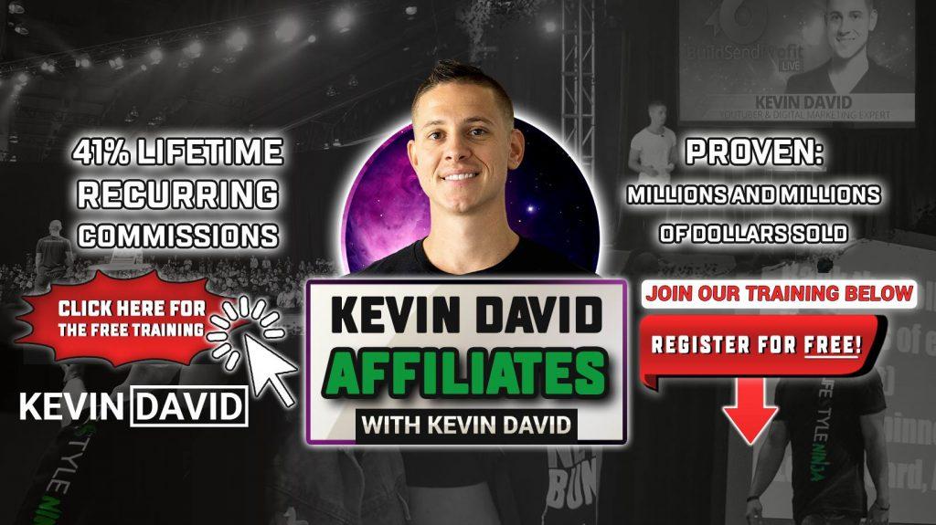 Kevin David Affiliates Facebook Group